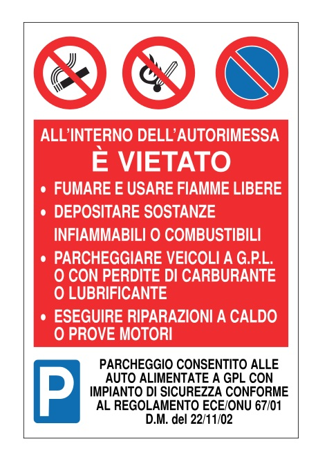 CARTELLO ALL. PLURISIMBOLO ALL'INTERNO