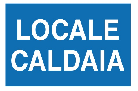CARTELLO ALL. LOCALE CALDAIA