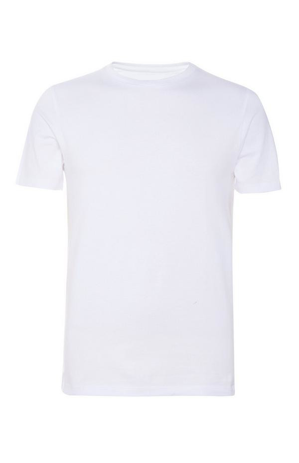 T-SHIRT BIANCA IN COTONE GR 140