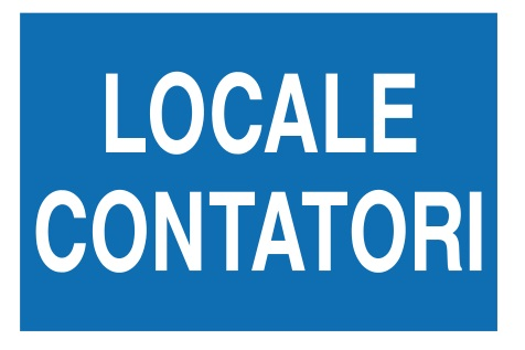 CARTELLO ALL. LOCALE CONTATORI