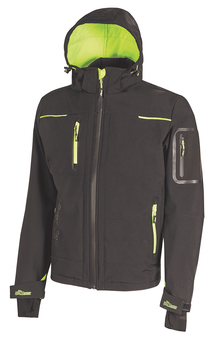 GIACCA SOFTSHELL U-TEX U-POWER