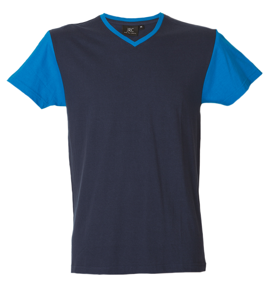 T-SHIRT IN COTONE BLU/ROYAL