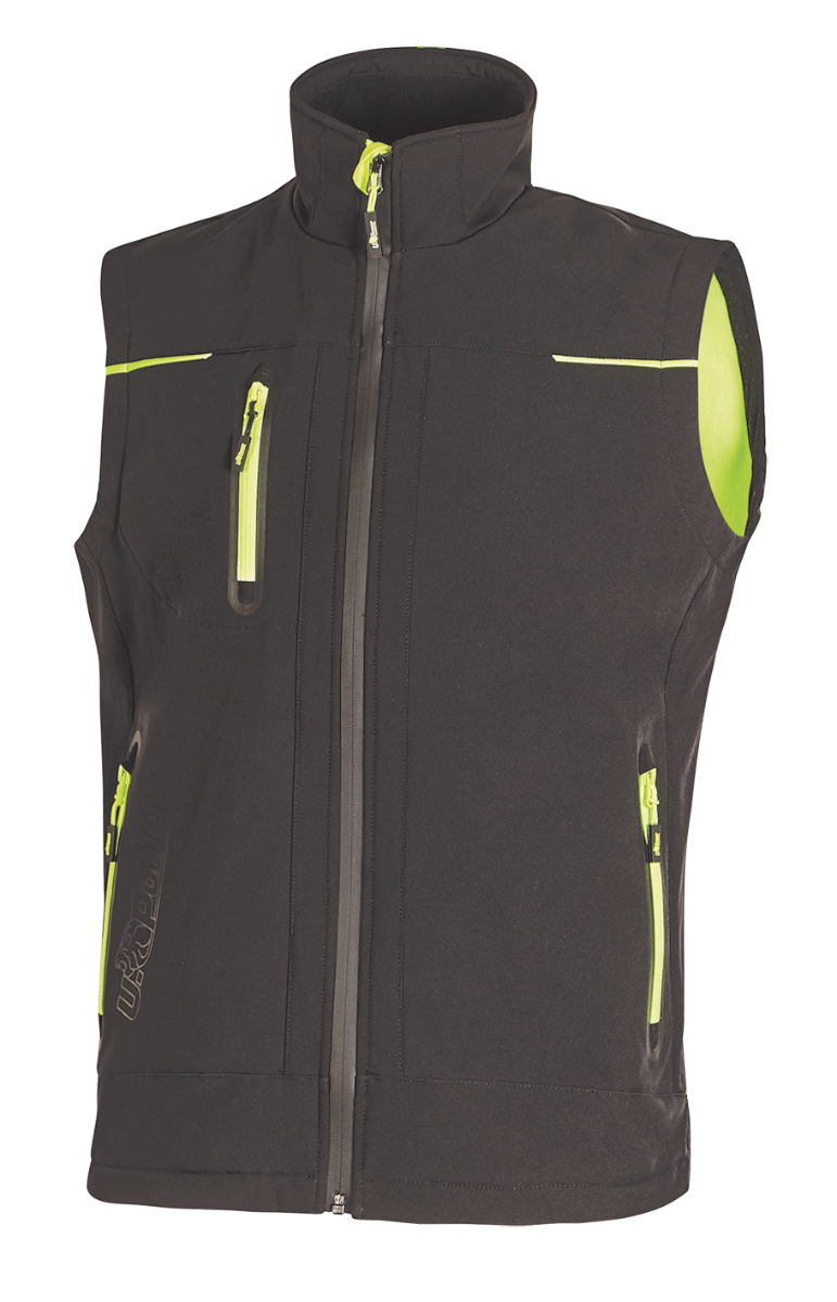 GILET SOFTSHELL U-TEX U-POWER